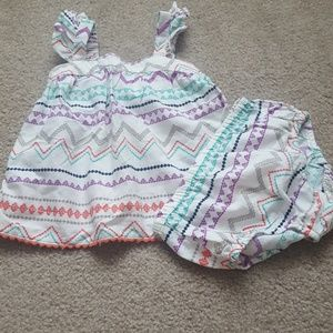 Old Navy top and bloomer set